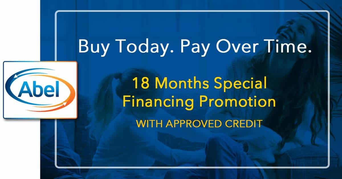 Abel financing specials
